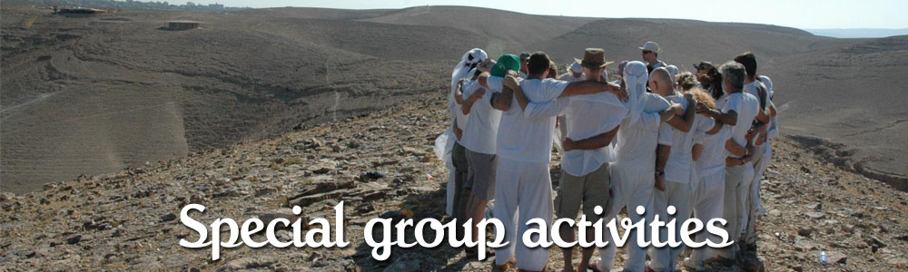 Special group activities