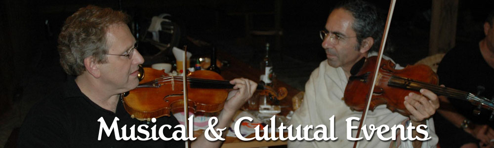 Musical & Cultural Events